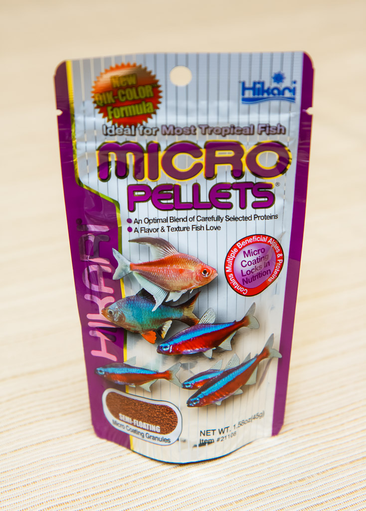 Hikari tropical micro pellets fish food review for Hikari fish food