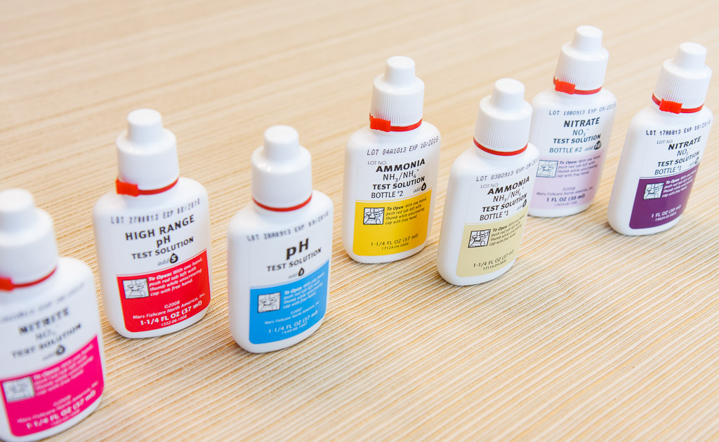 API Freshwater Master Test Kit Solution Bottles