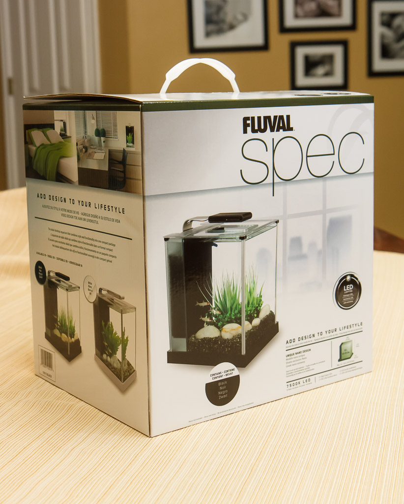Fluval Spec III in Box